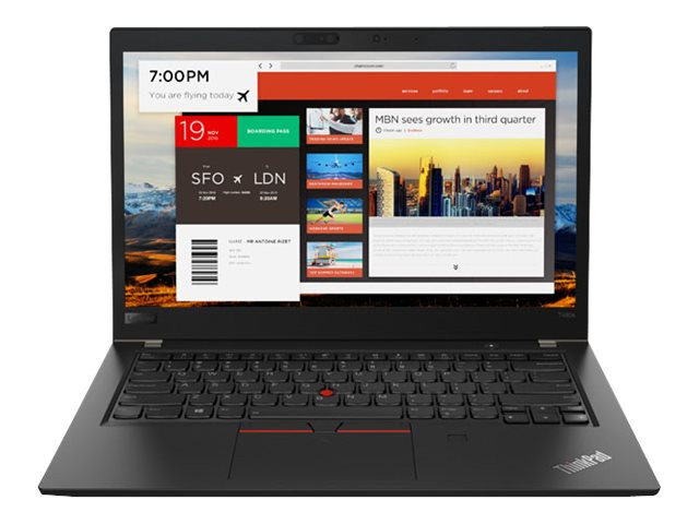 """Lenovo ThinkPad T480s 20L8 - 8GB RAM - 256GB SSD - 14"""" - Core i5 8250U / 1.6 GHz - 20L8002WMD"""