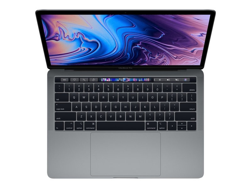 """Apple MacBook Pro with Touch Bar - 13.3"""" - Core i5 2.3 Ghz - 8 GB RAM - 512 GB SSD - space grey - MR9R2DK/A"""